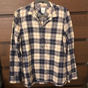 J. Crew Boy Fit Flannel